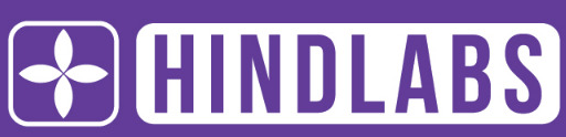 Hindlabs English Title logo